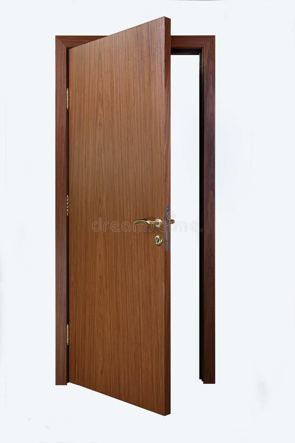 Drzwi odchylony fotografia royalty free