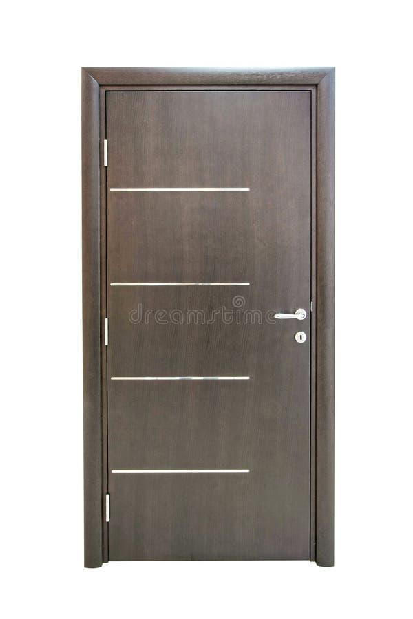 drzwi odizolowywający zdjęcia stock