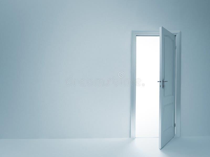 drzwi otwarty ilustracji