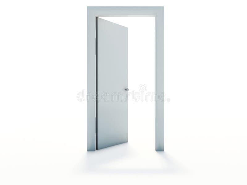 drzwi otwarty ilustracja wektor