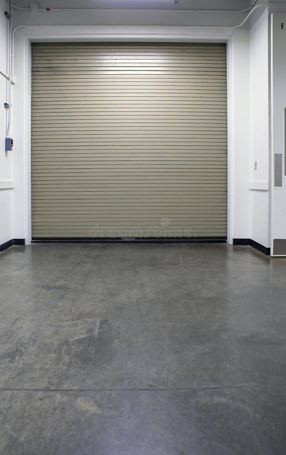 drzwi przemysłowe bay obraz stock