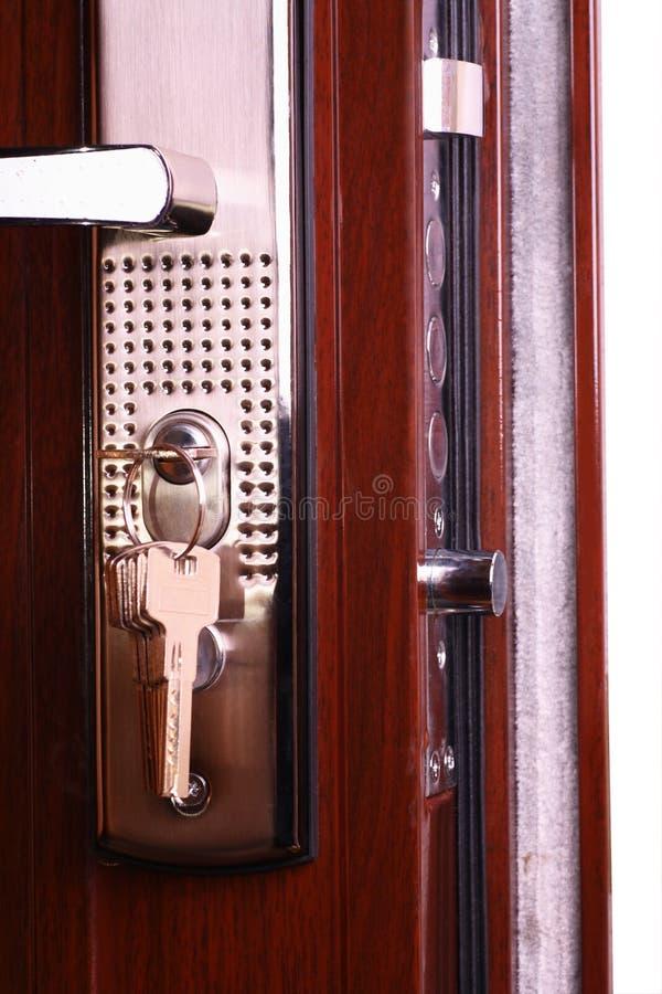 drzwi przodu metal obrazy stock