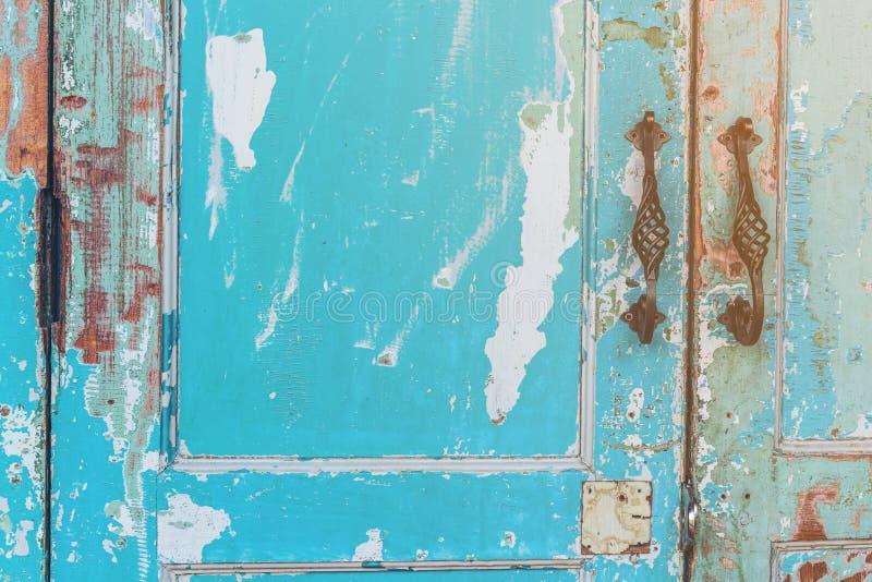 drzwi stary domowy fotografia stock