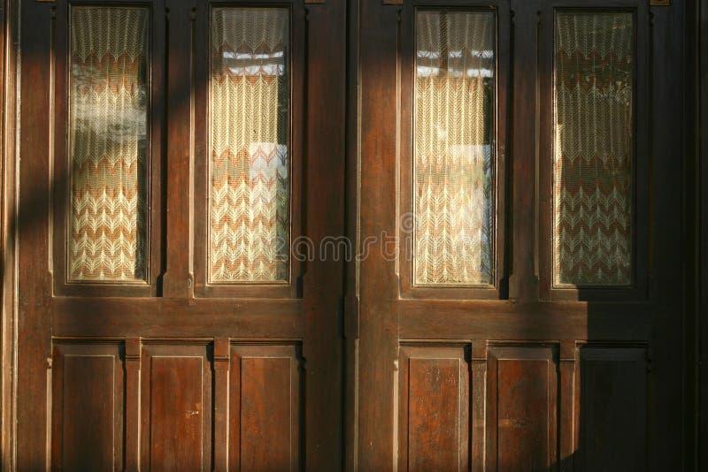 drzwi tradycyjny domowy fotografia royalty free