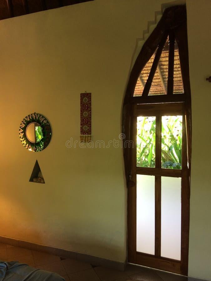 Drzwi w Bali obrazy royalty free