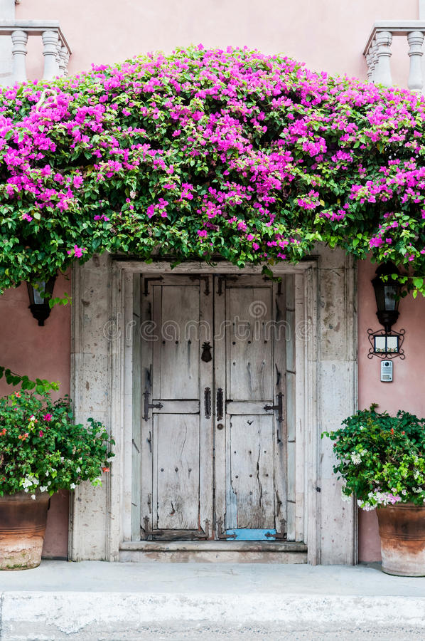 Drzwi w Meksyk fotografia royalty free