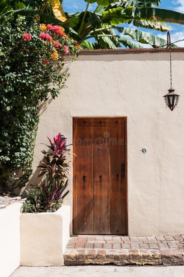 Drzwi w Meksyk obrazy royalty free