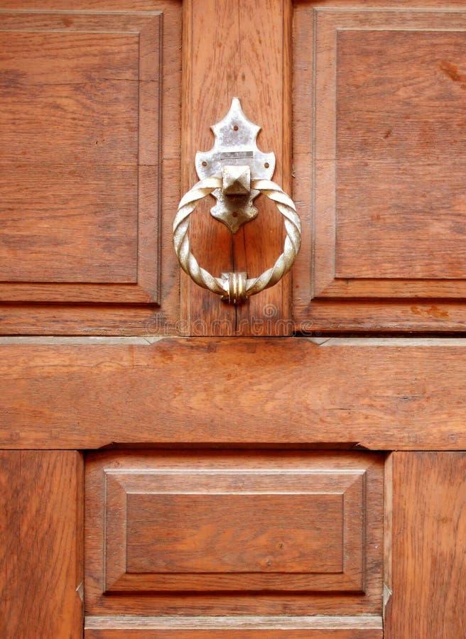 drzwi z drewna fotografia stock