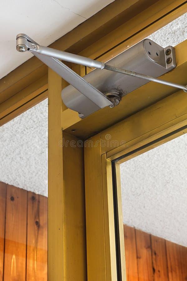 Drzwi - zamknięty obrazy stock
