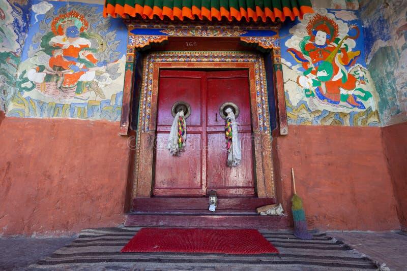 drzwiowa świątynia obrazy royalty free