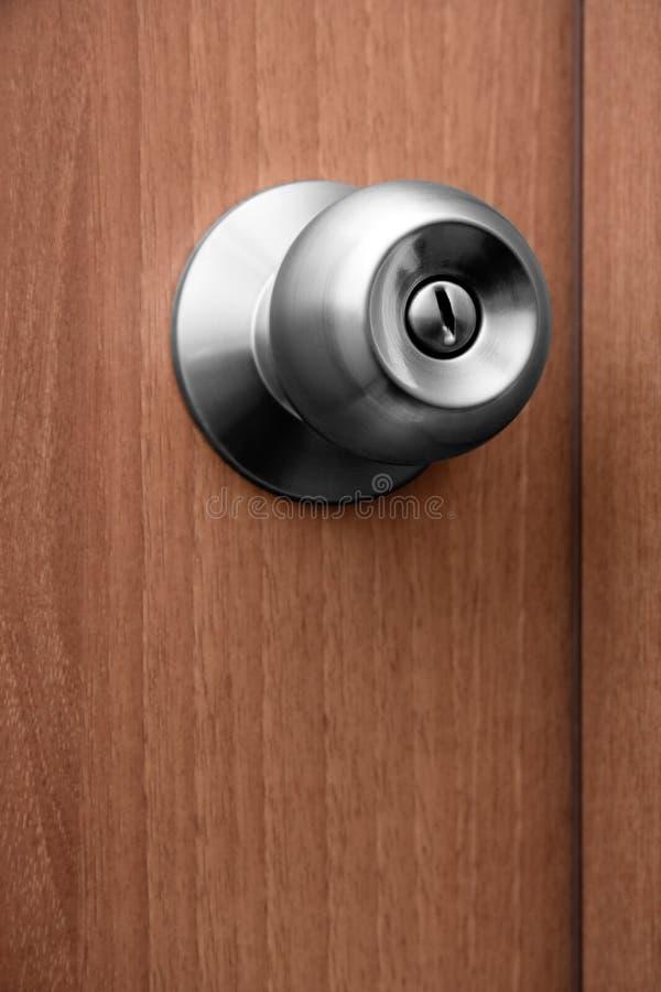 drzwiowa chrom rękojeść zdjęcie royalty free