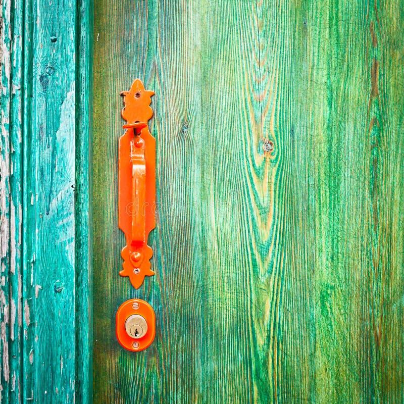 Drzwiowa rękojeść zdjęcia royalty free