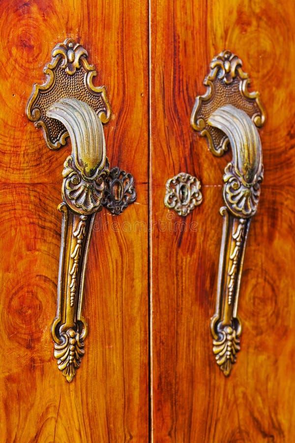 Drzwiowa rękojeść zdjęcie royalty free