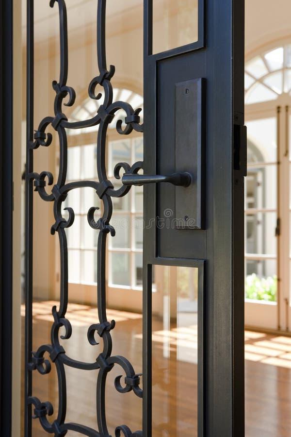 Drzwiowa Rękojeść wędkujący Widok zdjęcia royalty free