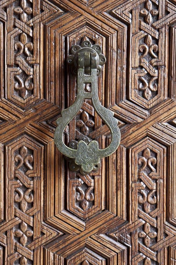 drzwiowego knocker moroccan fotografia royalty free