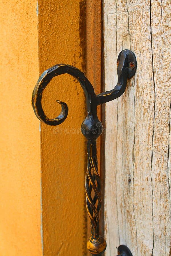 Drzwiowej rękojeści włocha styl obraz stock