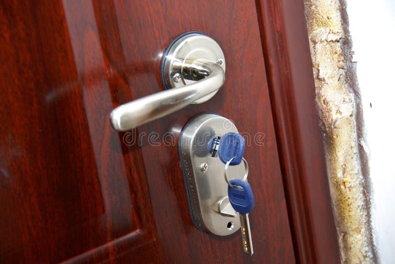 drzwiowi klucze zdjęcia stock