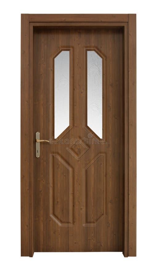 drzwiowy drewno obrazy royalty free