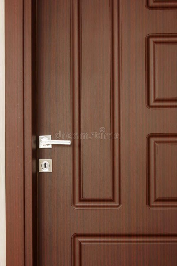 drzwiowy drewno fotografia royalty free