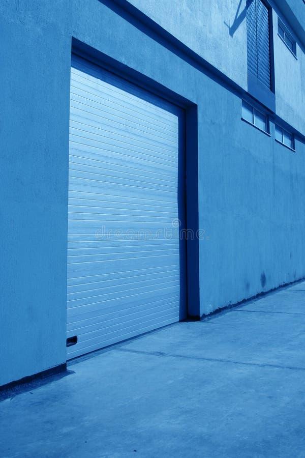 drzwiowy garaż fotografia stock