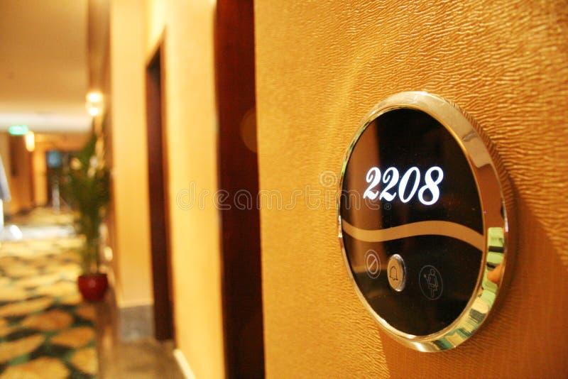 drzwiowy hotel obrazy stock