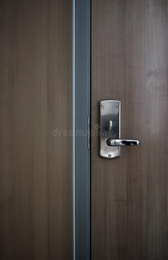 drzwiowy hotelowy nowożytny biuro obrazy stock