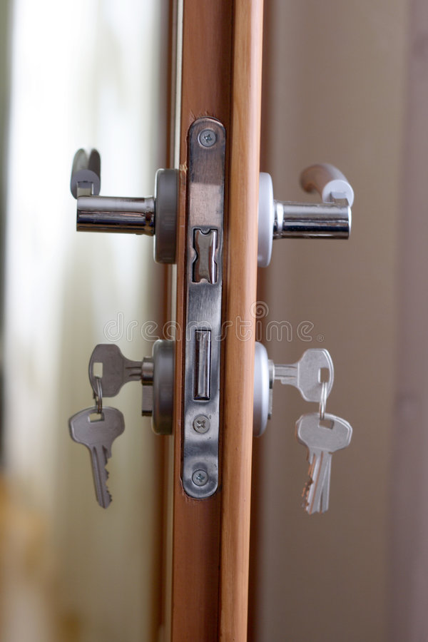 drzwiowy kędziorek obrazy stock