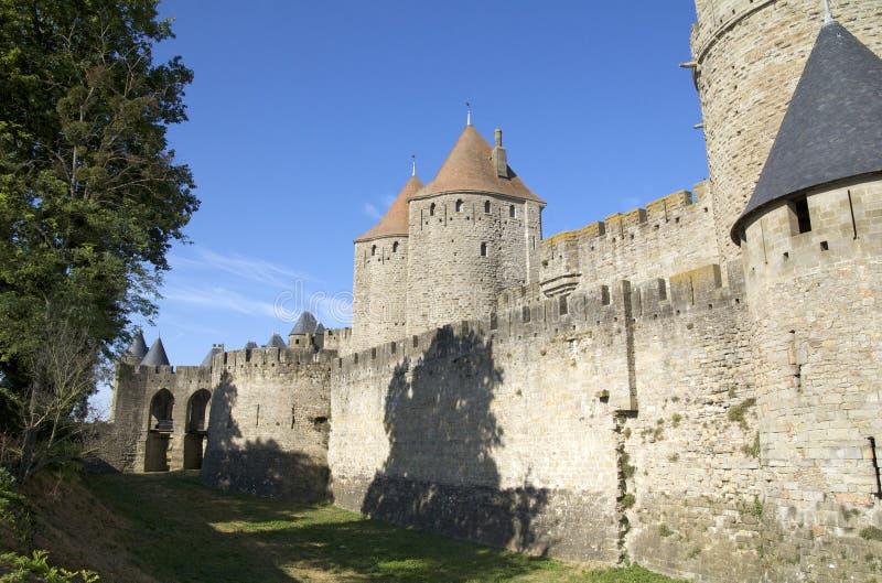 drzwiowy Narbonne fotografia royalty free