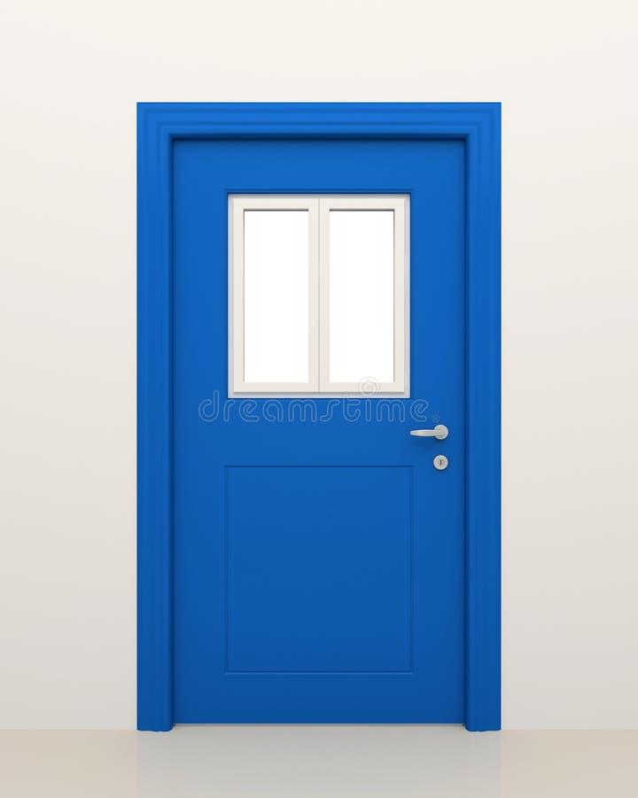 drzwiowy okno ilustracji