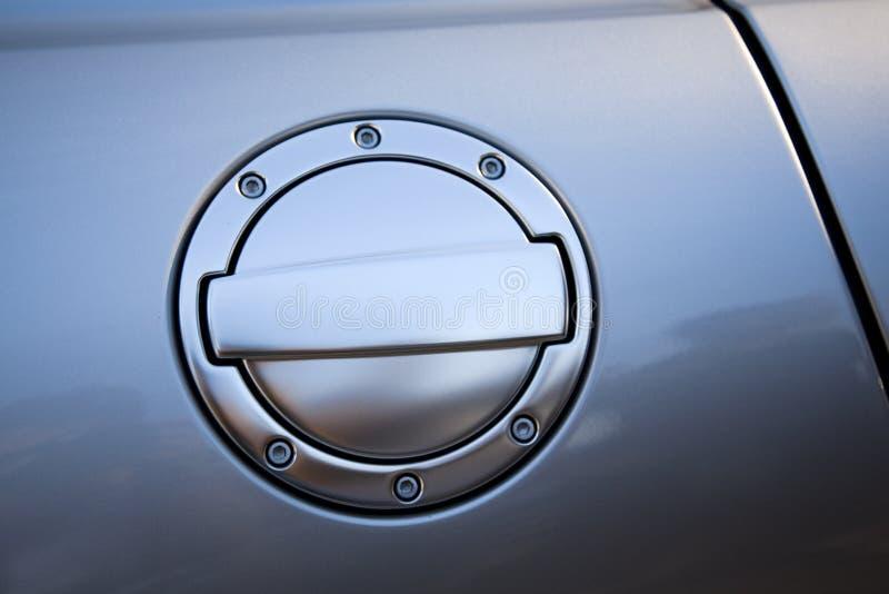 drzwiowy paliwowy zbiornik zdjęcie royalty free