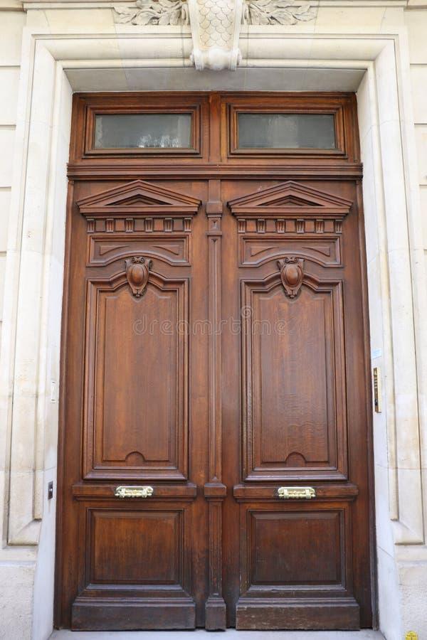 drzwiowy Paris obrazy royalty free