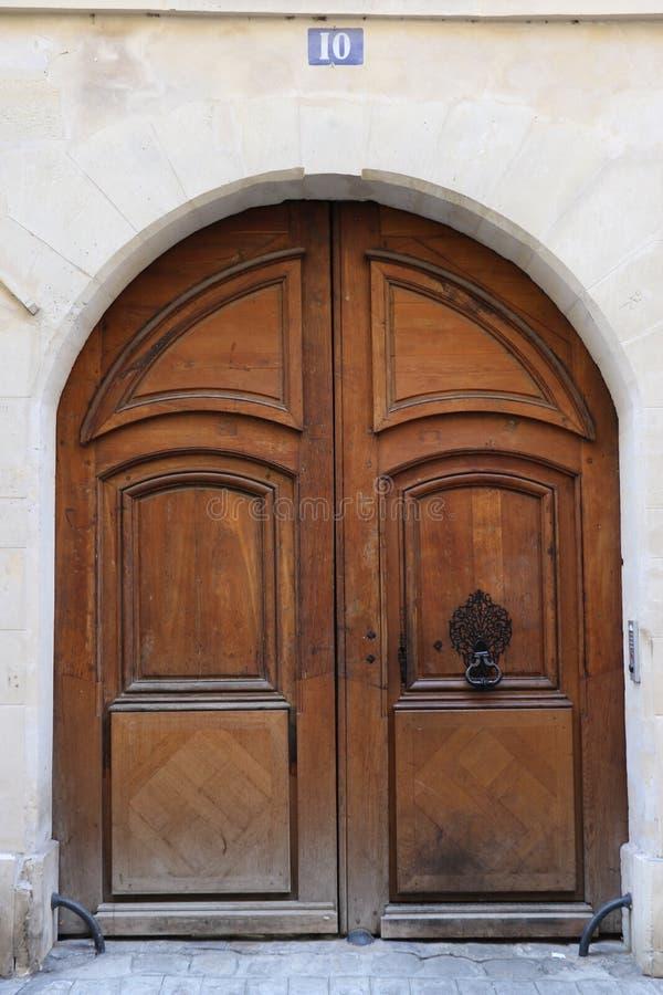 drzwiowy Paris zdjęcie stock