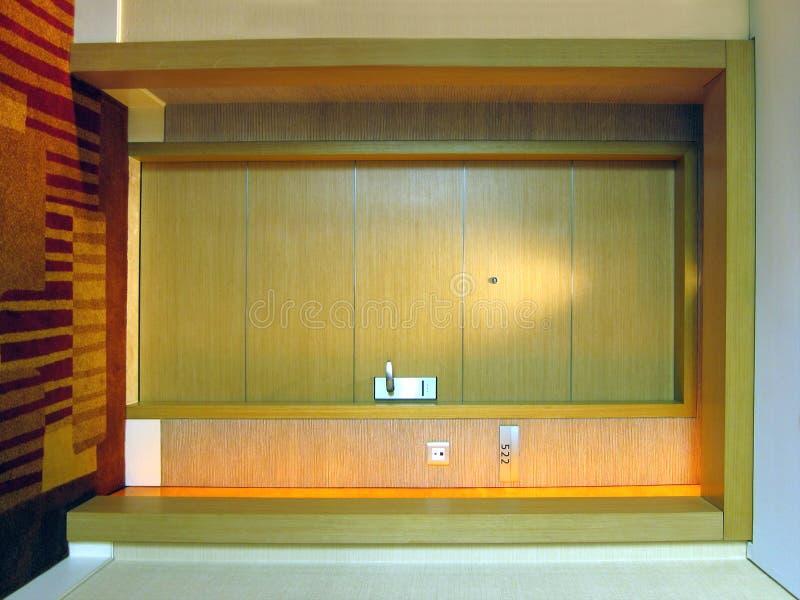 drzwiowy pokój hotelowy zdjęcie royalty free