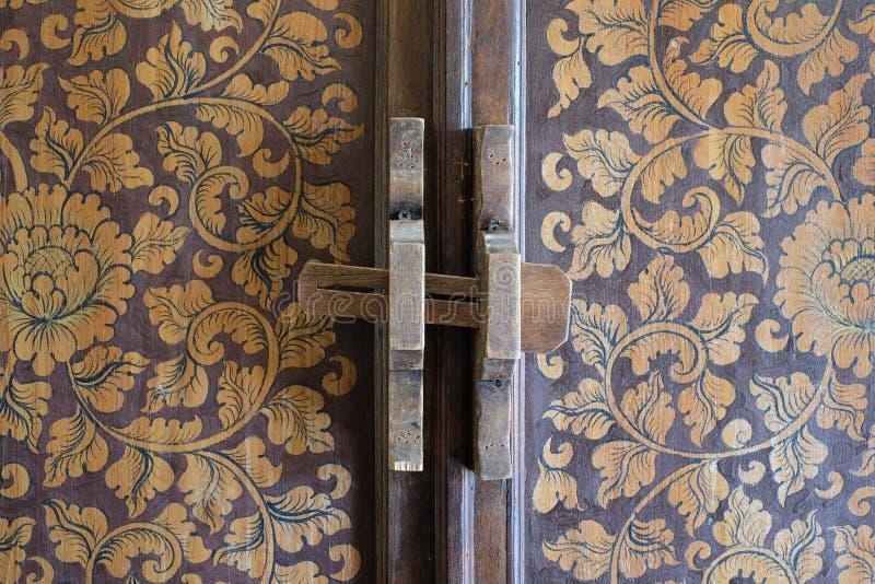 Drzwiowy rygiel zdjęcia royalty free