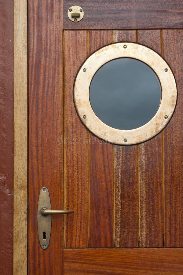 drzwiowy stary statek obrazy royalty free