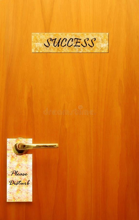 drzwiowy sukces zdjęcie stock