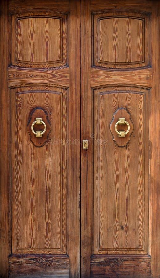 drzwiowy wewnętrzny drewniany fotografia royalty free