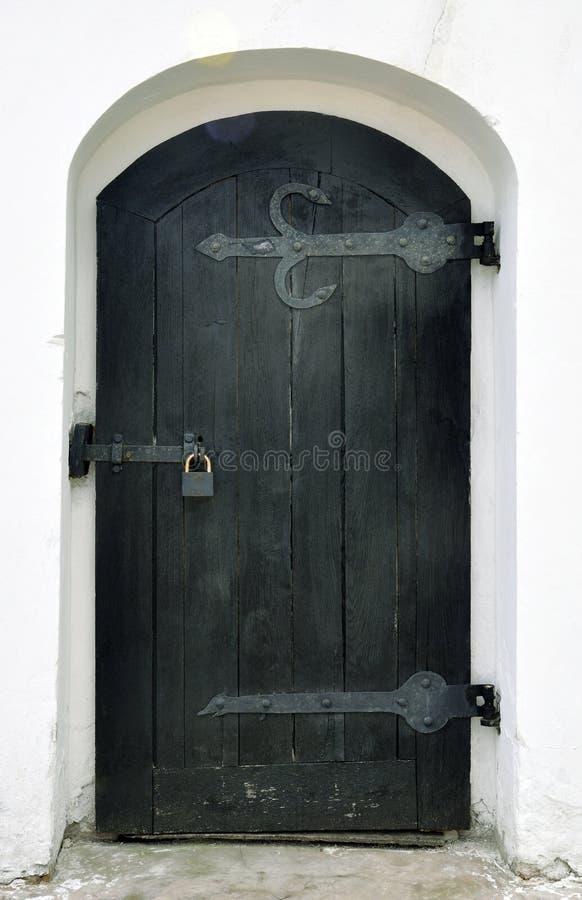 Download Drzwiowy Wewnętrzny Drewniany Zdjęcie Stock - Obraz złożonej z brama, rękojeść: 53783830