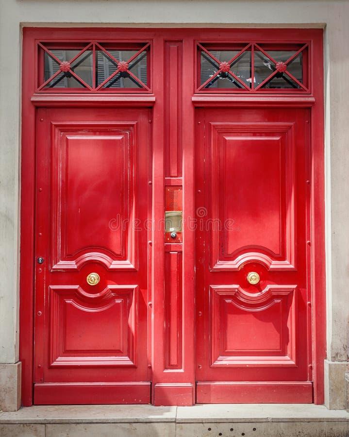 drzwiowy wewn?trzny drewniany zdjęcie stock