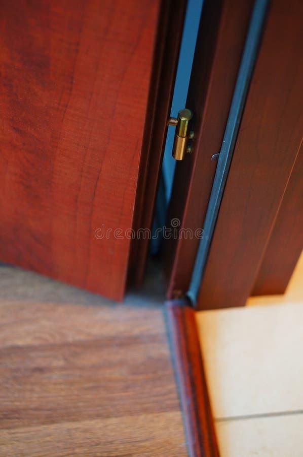 Drzwiowy zawias fotografia royalty free