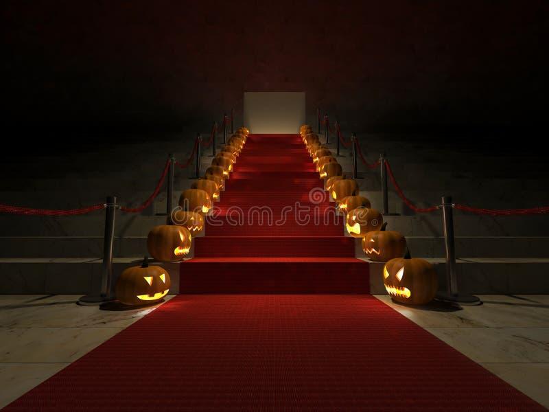 3ds красный ковер хеллоуин бесплатная иллюстрация