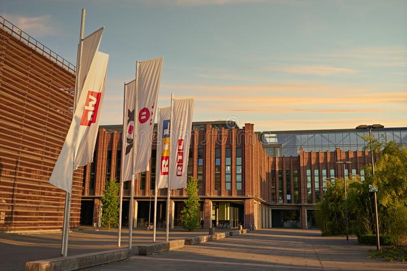 RTL Media Group Germany in Cologne. royalty free stock photos