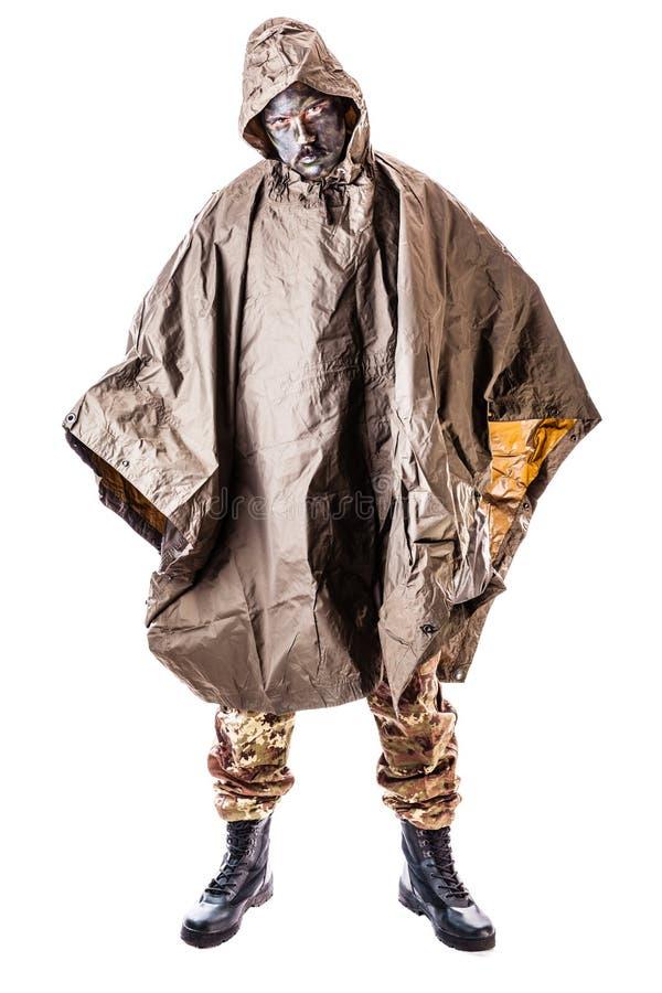 Dschungel-Soldat stockbilder