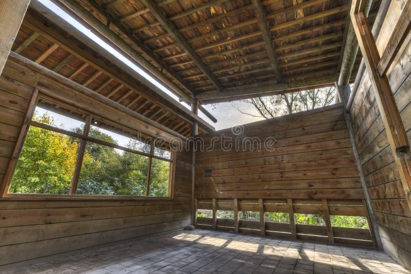 Dschungelbaumhaus lizenzfreies stockbild