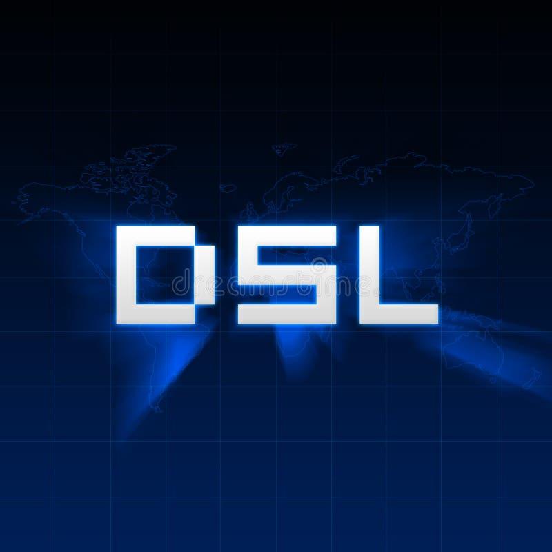 DSL illustrazione di stock