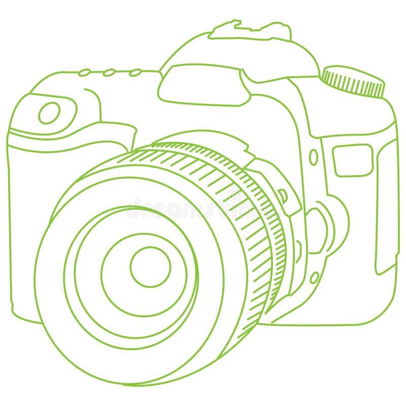 dslr分级显示 免版税图库摄影