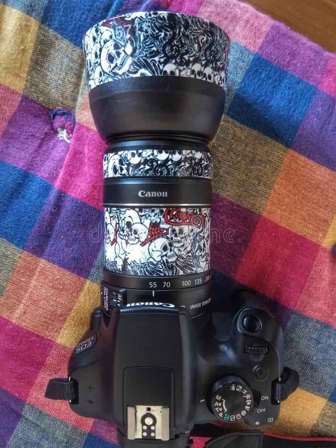 DSLR fotografia stock libera da diritti