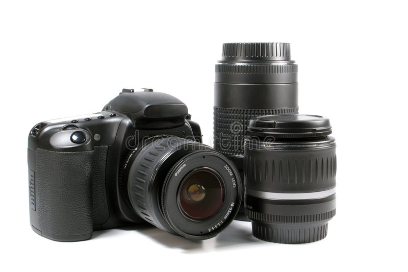 DSLR photo stock