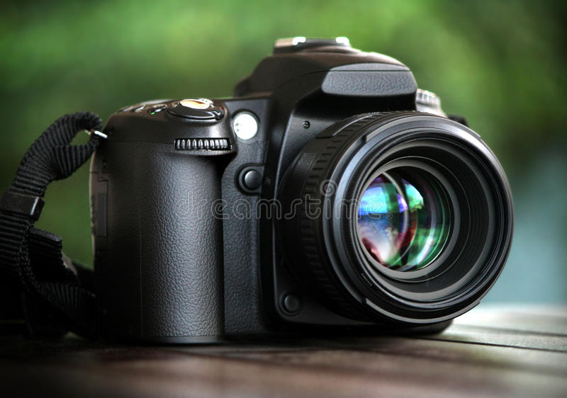 Dslr camera stock image
