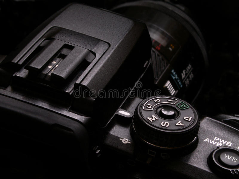DSLR-camera stock foto